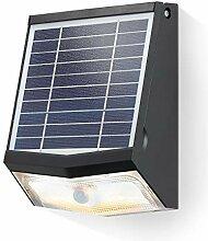 Solar LED Sensor Wandstrahler - max. 500 lm