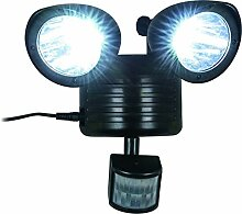 Solar LED Wandleuchte Bewegungsmelder Solarleuchte