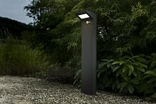 Solar LED Wegeleuchte Fiona 70cm mit Bewegungsmelder und Dauerlicht
