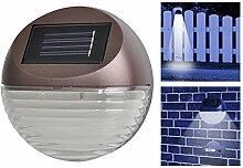 Solar LED Zaunbeleuchtung 4er Set - Ideal auch als