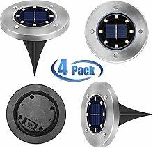Solar Leuchte 8 x LED außen Garten Solarleuchte