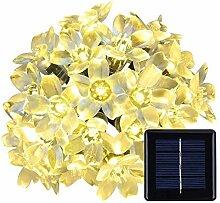 Solar Lichterkette Außen, KEEDA Wasserdicht