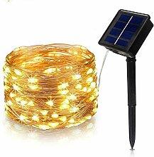 Solar Lichterkette Aussen,Tragbar Solar