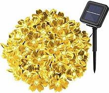 Solar Lichterkette, YUNLIGHTS 50 LED Wasserfeste