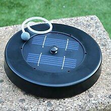 Solar Luftsprudler für Teich – Floating Oxygenator Air Pumpe für Garten, Fisch, 1 Stein Kit von PK Green