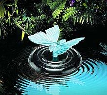Solar Premium Solar Wasser Schmetterling/Libelle Outdoor Garten Farbwechsler–Diese Floating Schmetterling Licht wechselt Farben Sicher zu beleuchten zu jedem Teich oder Brunnen Funktion. Kaufen Yours Heute