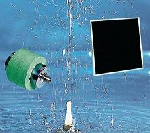 Solar Pumpe Wasserspiel Perlen Set + Solarmodul Teichpumpe Gartenteich Brunnen