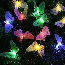 Solar Schmetterling Lichterkette, EONANT Solar