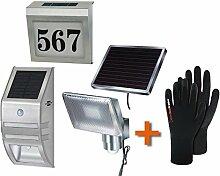Solar Set Brennenstuhl Solar LED-Strahler SOL 80