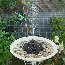 Solar Springbrunnen 2.5W Mini Teichpumpe mit 4
