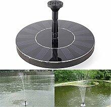 Solar Springbrunnen,Futurepast Solarpumpe Mit Solar Wasserpumpe Fontäne Pumpe Solar Schwimmender Für Gartenteich, Vogel-Bad, Fisch-Behälter, Kleiner Teich
