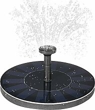 Solar Springbrunnen Teichpumpe schwimmender