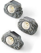 Solar Steine (3-tlg. Set), grau