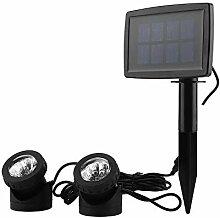 Solar Teichbeleuchtung, LED Teichbeleuchtung mit