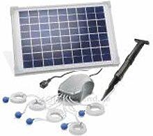 Solar Teichbelüfter 10W Solarmodul 5x120 l/h