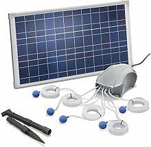 Solar Teichbelüfter 25W Solarmodul 5 x 120l/h