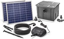 Solar Teichfilter Set 100/3400 Solarpumpe