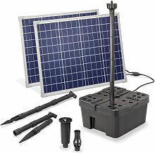 Solar Teichfilter Set Professional 100W 3400 l/h