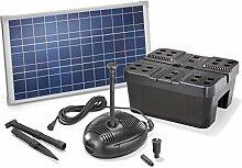 Solar Teichfilterset Profi 630 l/h Förderleistung