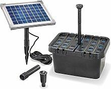 Solar Teichfilterset Starter 470 l/h