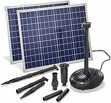 Solar Teichpumpe 100 Watt Solarmodul 3400 l/h