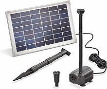 Solar Teichpumpe 12 Watt Solarmodul 650 l/h