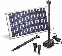 Solar Teichpumpe 25 Watt Solarmodul 1250 l/h