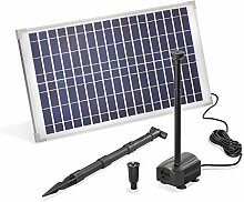 Solar Teichpumpe 25 Watt Solarmodul 875 l/h