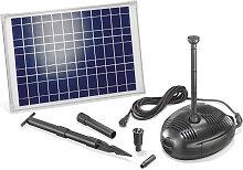 Solar Teichpumpe 25W 1300l/h Solarpumpe