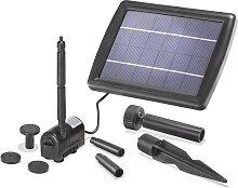 Solar Teichpumpe 2W 175l/h Solarpumpe Gartenteich
