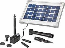 Solar Teichpumpe 3,5 Watt Solarmodul 200 l/h