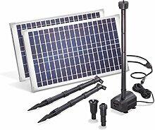 Solar Teichpumpe 50 Watt Solarmodul 1750 l/h