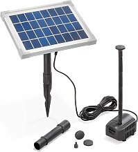 Solar Teichpumpe 5W 250l/h Solarpumpe Gartenteich