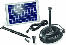 Solar Teichpumpenset Milano 10W Solarmodul 630 l/h