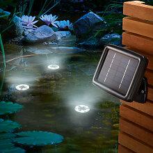 Solar Unterwasserstrahler Gartenteich