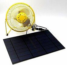 Solar Ventilator 10 w solar zelle usb Lüftung system