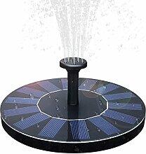 Solar-Vogeltränke Brunnen, 1,4 W Solarpanel-Kit,