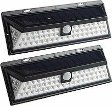 Solar Wandlampe mit Sensor | Bewegungsmelder | 56