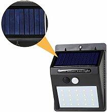 Solar Wandleuchte Außenstrahler Gartenleuchten 20