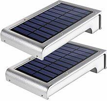 Solar Wandleuchte, GREEMPIRE 49 LED Solarleuchten