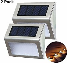 Solar Wandleuchten/ Wandleuchte ,2 Stück,KEEDA