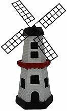 Solar Windmühle Solarleuchte, Gartendekoration,