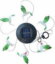 Solar Windspiel Licht, LED Garten Hängeleuchte,