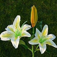 Solarbetriebene künstliche Lilie Blume LED Solar