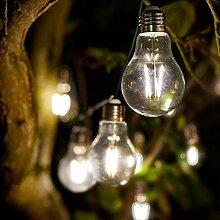 solarbetriebene Outdoor Party-Lichterkette – 2m