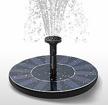 Solarbrunnenpumpe, Gartenteich Solarwasserpumpe