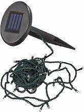 Solarcosa 134018 Solar Lichterkette 50 LED, bun