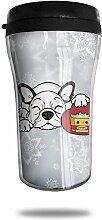 Solardream Bulldog Hug Popcorn Kaffeetasse