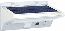 Solarlampe Garten LED Solarleuchte Edelstahl