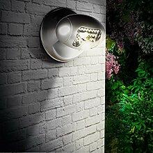 Solarlampe SMD LED Solarleuchte Bewegungsmelder Spot Strahler Solar-Hängelampe Außenleuchte Lampe Leuchte Garten Gartenleuchte Einfahrt Haus Gartenlampe Garden-Ligh
